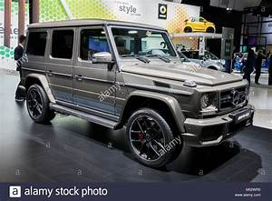 Mercedes 4x4 Amg : brussels jan 10 2018 mercedes benz g class amg 4x4 car ~ Melissatoandfro.com Idées de Décoration