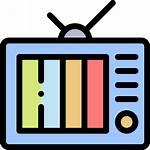 Television Icon Categories Televisao Buying Reach Target
