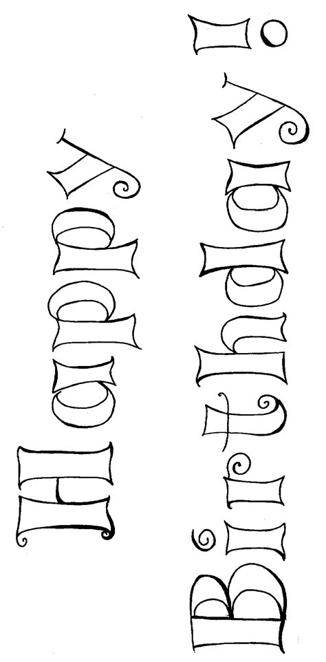 coloring pages  happy birthday parties coloring pages