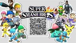 Snake Wolf Ice Climbers U0026 More Mii Fighter Qr Codes