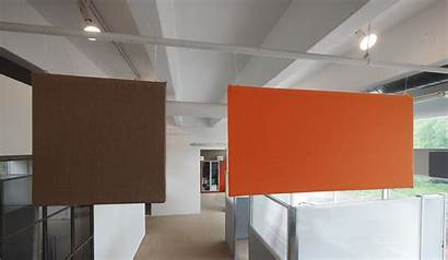 Panels Hanging Acoustic Ceiling Sound Noise Office