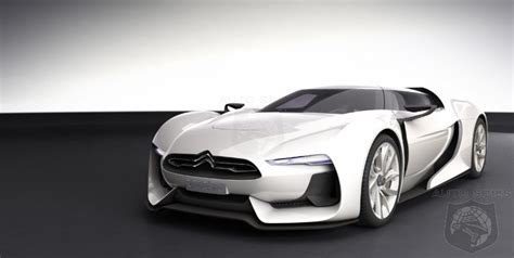 citroen supercar breaking news citroen gt supercar concept is going to
