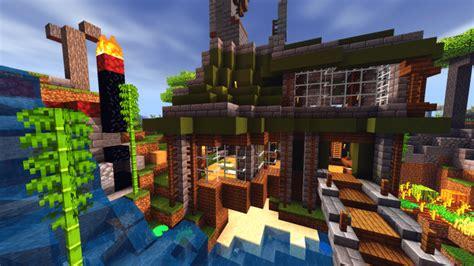 survival base mapbuilding minecraft pe maps
