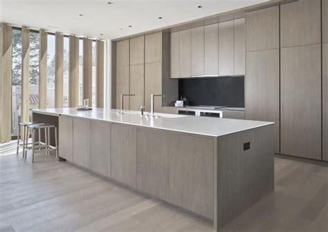 light grey 7 1 2 quot european oak modern kitchen