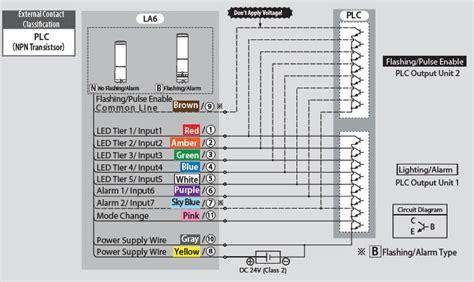 patlite signal tower la6 see more do more revolite also wiring diagram manufacturers