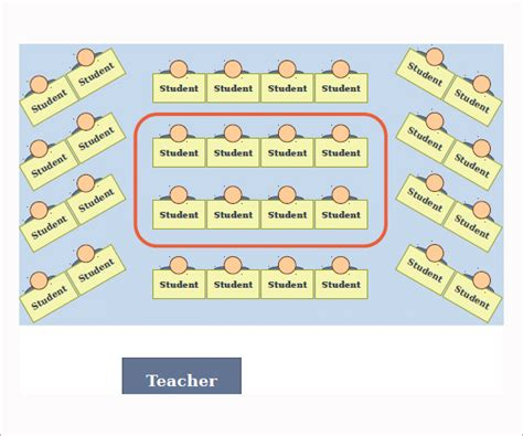 sample seating chart template   documents   excel
