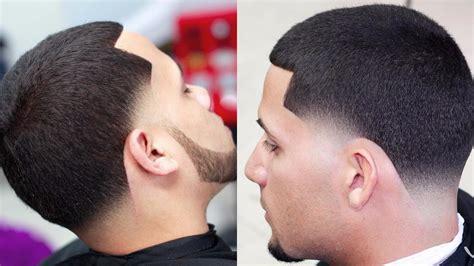 cool taper fade haircuts  men  haircut   british barber youtube