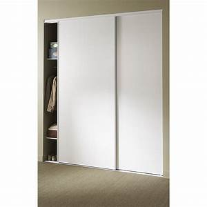 Porte Placard Coulissante Pas Cher : porte placard coulissante pas cher ~ Premium-room.com Idées de Décoration