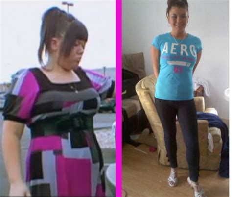 foto de Amber Portwood before and after 65 lb weight loss photos
