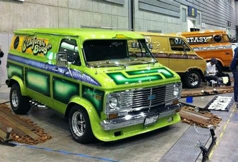 70s Van  Uploaded To Pinterest  Old Custom Vans