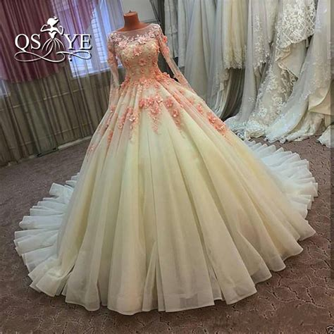 Vintage Ball Gown Wedding Dresses 2017 Real Photo 3d