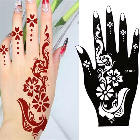 henna selber malen die besten 25 henna schablone ideen auf