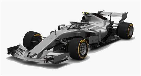 F1 Model Cars by Formula 1 Concept Car Model Turbosquid 1204300
