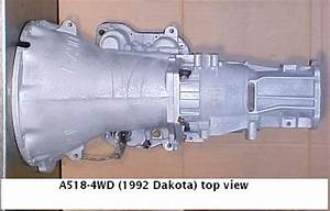 Chrysler A518 Transmission