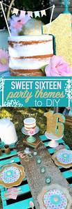 Sweet Party Day : diy sweet 16 party themes a little craft in your day ~ Melissatoandfro.com Idées de Décoration