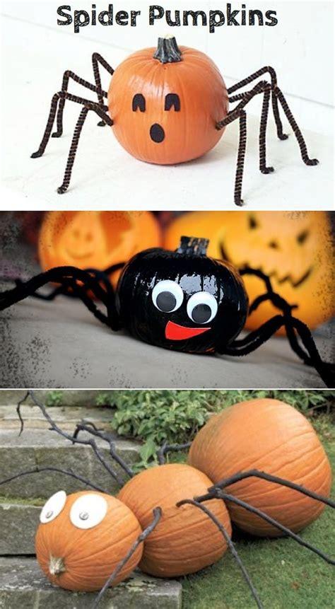 pumpkin design ideas without carving 8 pumpkin ideas without carving halloween pinterest