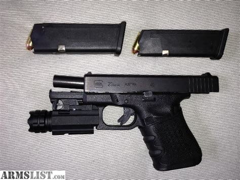 glock 23 tactical light armslist for trade glock 23 with 190 lumen