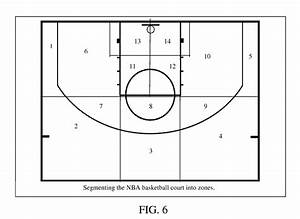 Photo Basketball Court Template Images Diagram ~ Clipgoo