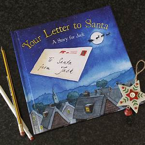 personalised letter to santa book by jonny39s sister With letters to santa book