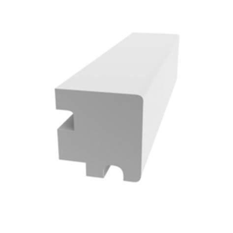 Pvc Sill Window Moulding by Shop Evertrue 1 375 In X 7 Ft Interior Exterior Pvc Sill