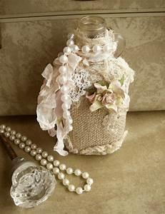 Shabby Chic Selber Machen : flaschen deko selber machen awesome diy windlicht aus ~ Lizthompson.info Haus und Dekorationen