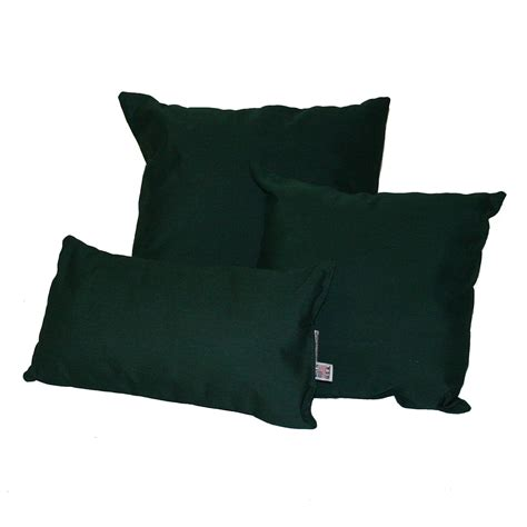 sunbrella outdoor pillows forest green sunbrella outdoor throw pillow dfohome