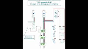 Eclairage Sans Branchement Electrique : schema electrique de branchement baes clairage par t l rupteur youtube ~ Melissatoandfro.com Idées de Décoration
