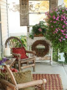 shabby chic porch decor shabby chic porch home design ideas pictures remodel and decor