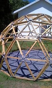 geodesic conector bellastockcom timber frame With tonnelle en bois pour jardin 1 jardin dhiver auvent dete serre geodesique garden