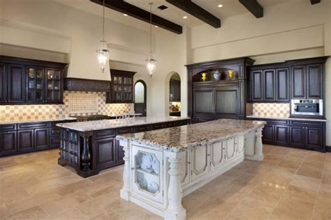 kitchen with islands designs santa barbara style home
