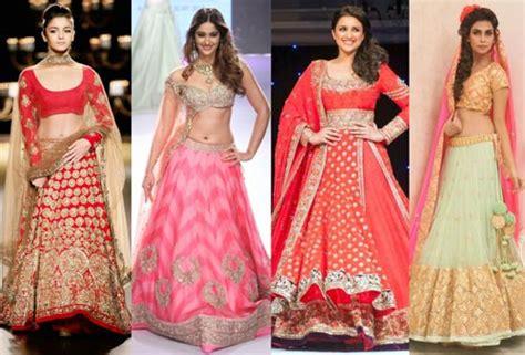 delhi stores  bridal lehengas trousseau shopping