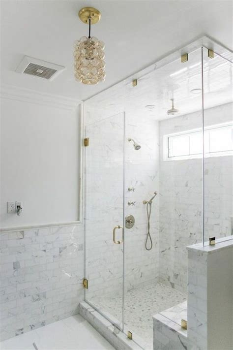 glam white  gray bathroom features white paint  top
