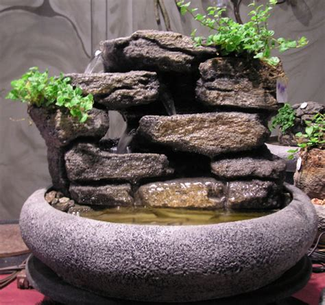 18 quot large tabletop water fountain ss51 natural creations
