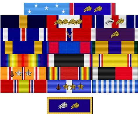 Awards And Decorations Us Army by Us Army Awards And Decorations Chart