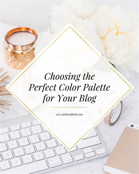 Choosing The Perfect Color Palette For Your Blog