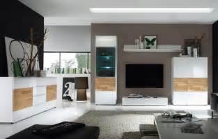 wohnzimmer kommode wohnzimmer elion weiss eiche wohnwand 310cm kommode wohnzimmereinrichtung neu ebay