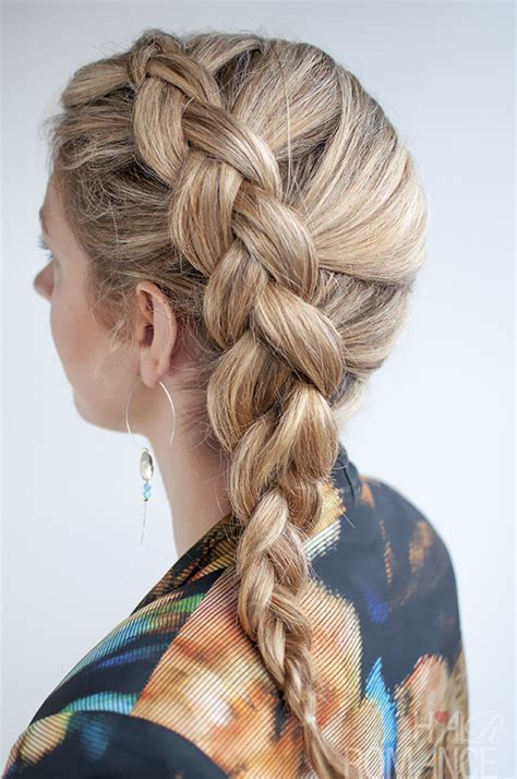 french braid   hair beautydiagrams
