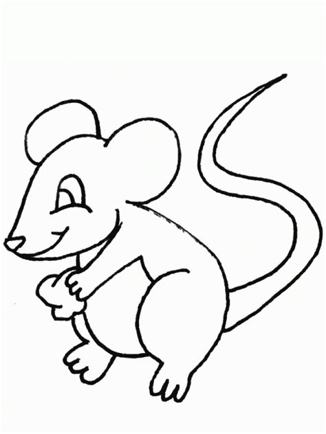free printable mouse coloring pages for