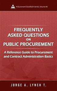 Frequently Asked Questions On Public Procurement  A