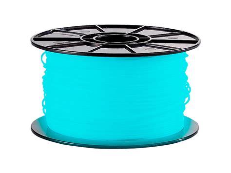 abs 3d drucker freesculpt abs filament f 252 r 3d drucker quot glow in the quot 1kg blau