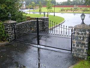 Ideas Electric Driveway Gates — Home Ideas Collection : Installing Electric Driveway Gates