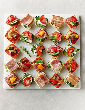 m and s canapes foods order sandwiches platters m s