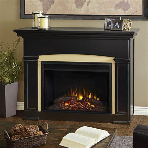 holbrook grand black electric fireplace
