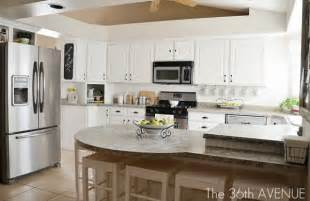 small kitchen redo ideas white kitchen remodel using thrifted cabinets remodelaholic