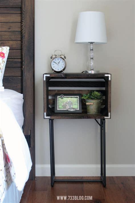Crate Nightstand Diy diy crate nightstands inspiration made simple