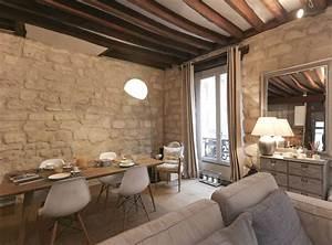 Idee deco interieur appartement 4 d233coration dun for Deco cuisine avec chaise en bois