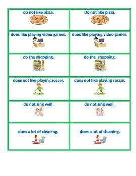 subject verb agreement grammar vocabulary game