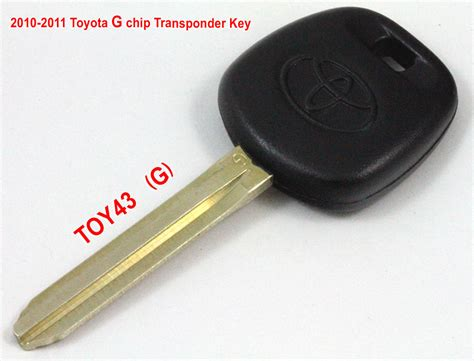3 Ways To Tell If Toyota Transponder Key Is G Chip Or H