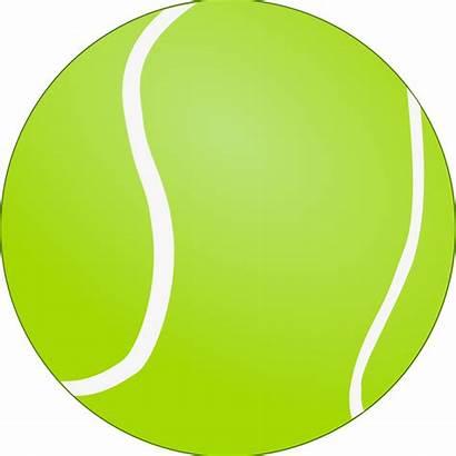 Tennis Ball Clipart Bola Tenis Clip Transparent