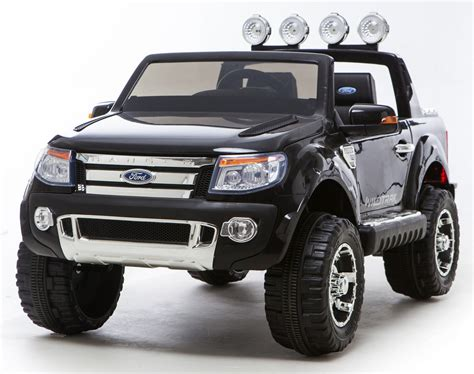electric 4x4 black ricco licensed ford ranger 4x4 kids electric ride on